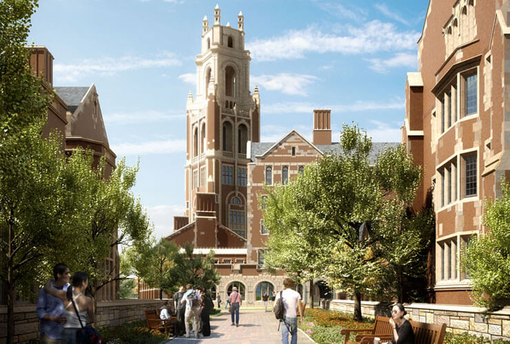 Yale Residential Colleges Break Ground