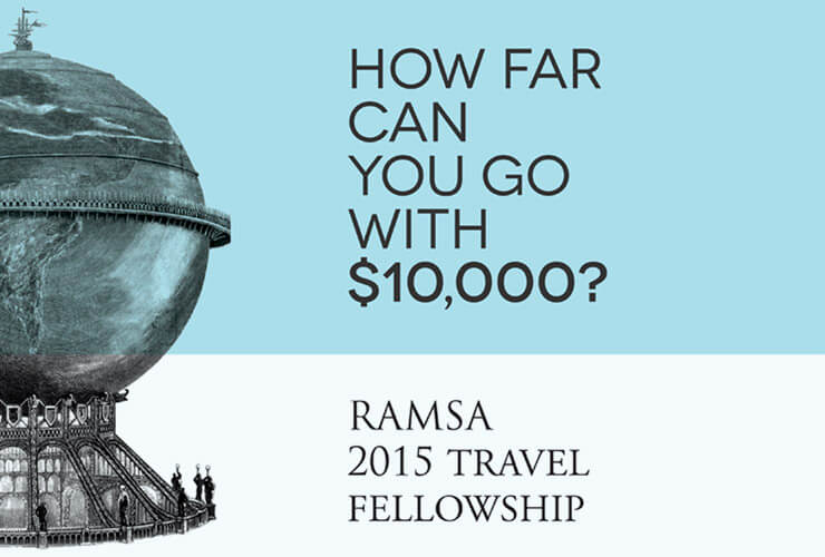 Robert A.M. Stern Architects Announces Winner of 2015 RAMSA Travel Fellowship