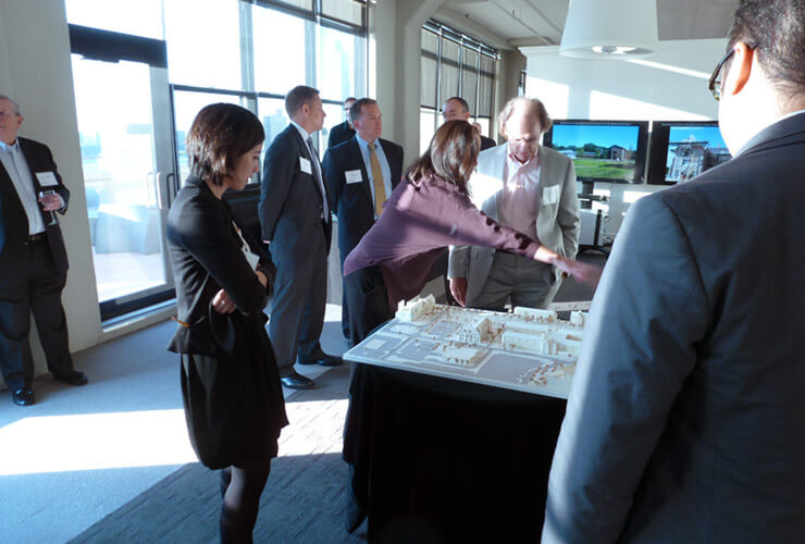 University of Notre Dame School of Architecture Alumni Reception at RAMSA