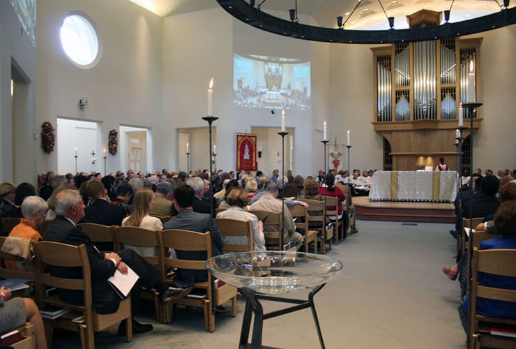 Virginia Theological Seminary to Consecrate new Immanuel Chapel