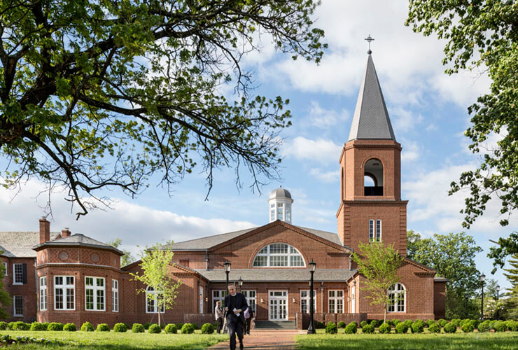 Virginia Theological Seminary Consecrates new Immanuel Chapel