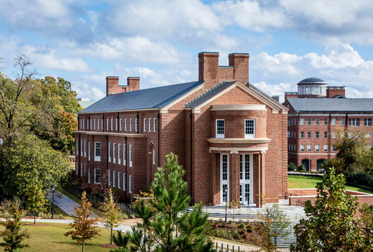 The University of Georgia Dedicates Correll Hall, Breaks Ground on Phase II of the Business Learning Community