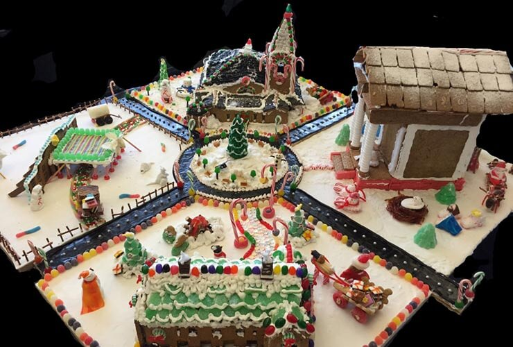 RAMSA Kicks-Off Annual Holiday Gingerbread Building Competition