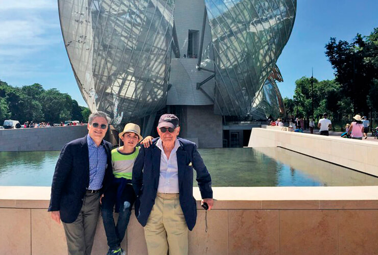 Architectural Digest: Robert A.M. Stern Takes His Son and Grandson on an Unforgettable European Holiday