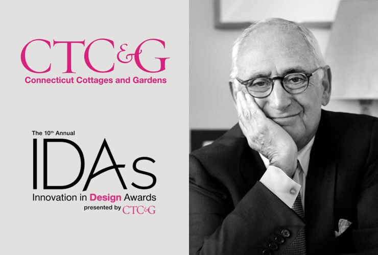 Robert A.M. Stern to be Honored with Connecticut Cottages & Gardens' Innovator Award