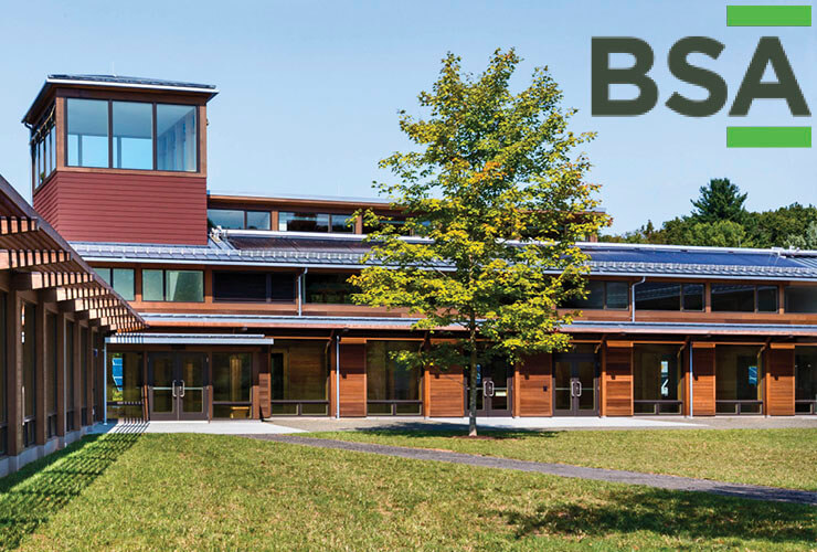 RAMSA's Kohler Environmental Center Wins a BSA 2016 Educational Facilities Award