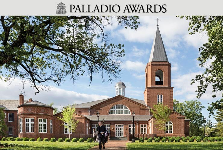 RAMSA Accepts 2016 Palladio Award for the Immanuel Chapel