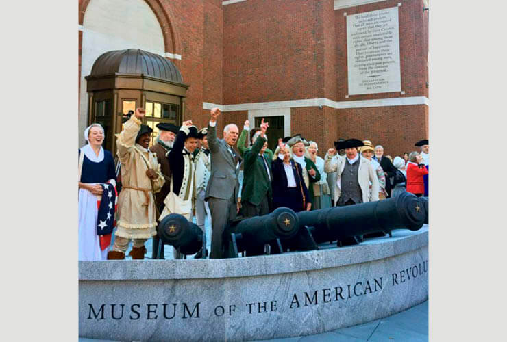The Museum of the American Revolution Building Dedicated