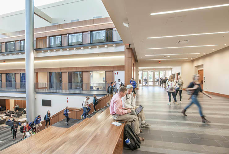 The University of Kentucky Dedicates new Gatton College of Business Building