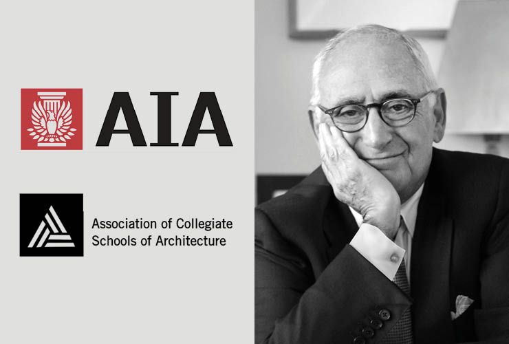 Robert A.M. Stern Honored with AIA / ACSA Topaz Medallion for Architectural Education