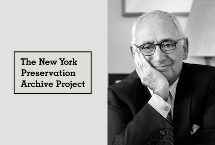 Robert A.M. Stern to be Honored with New York Preservation Archive Project's Preservation Award