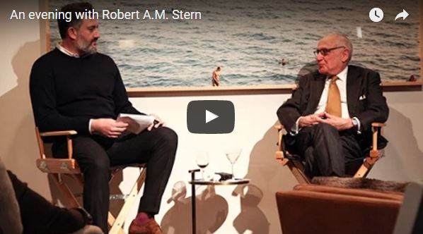 An Evening with Robert A.M. Stern and Amir Korangy of the The Real Deal Magazine