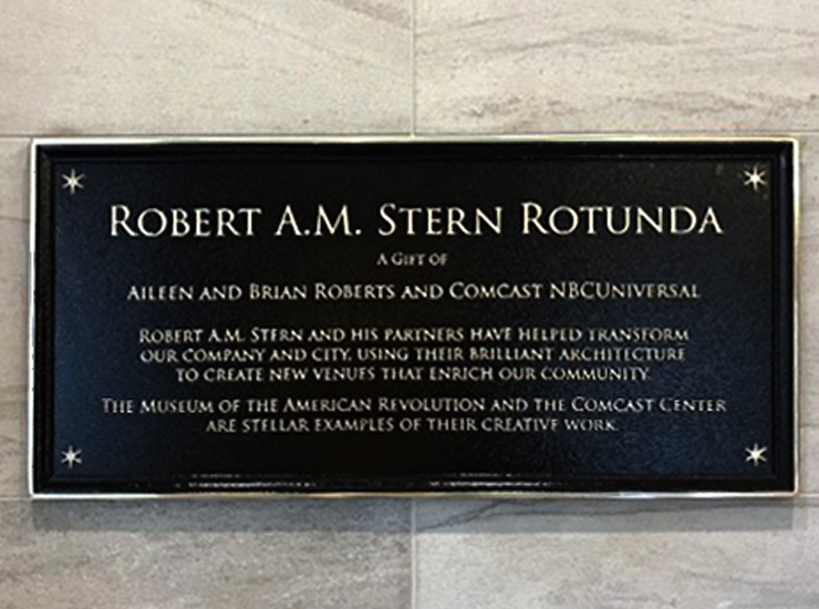 Museum of the American Revolution Announces Robert A.M. Stern Rotunda