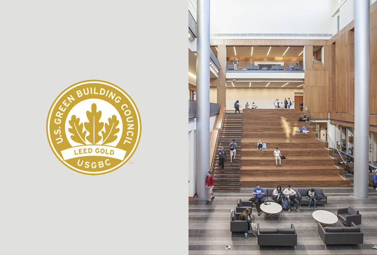 RAMSA's Gatton College of Business and Economics Certified LEED Gold