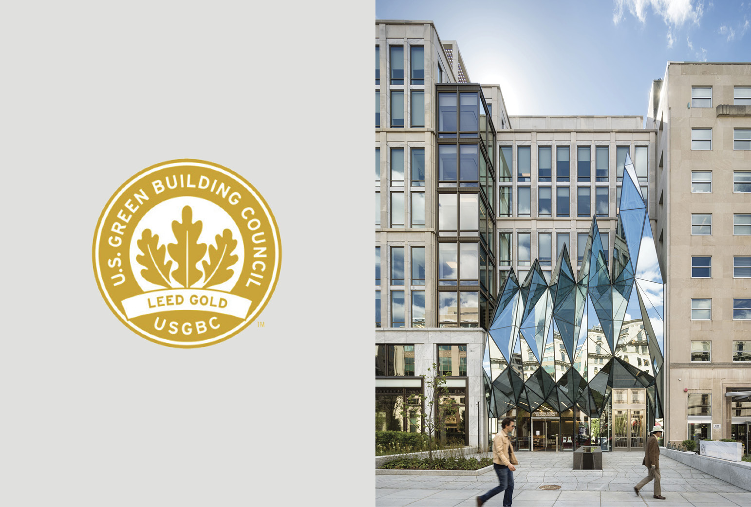 RAMSA's 900 16th Street, NW, Certified LEED Gold