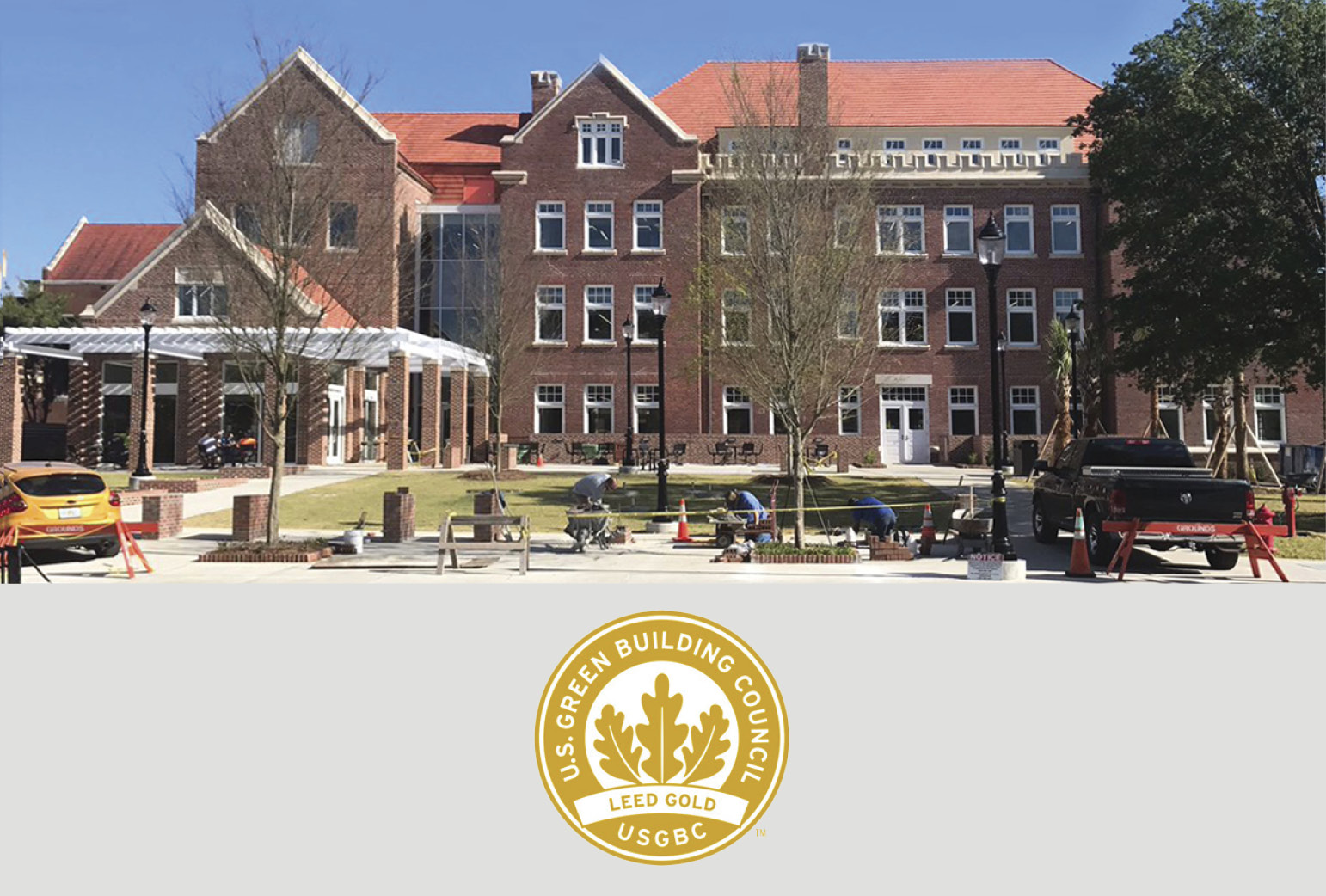 RAMSA's Newell Hall Certified LEED Gold