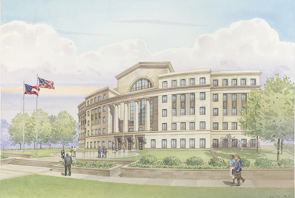Georgia Judicial Complex Breaks Ground