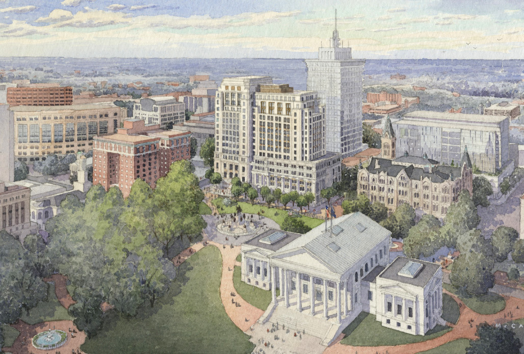 Virginia AARB Approves Design of New General Assembly Building