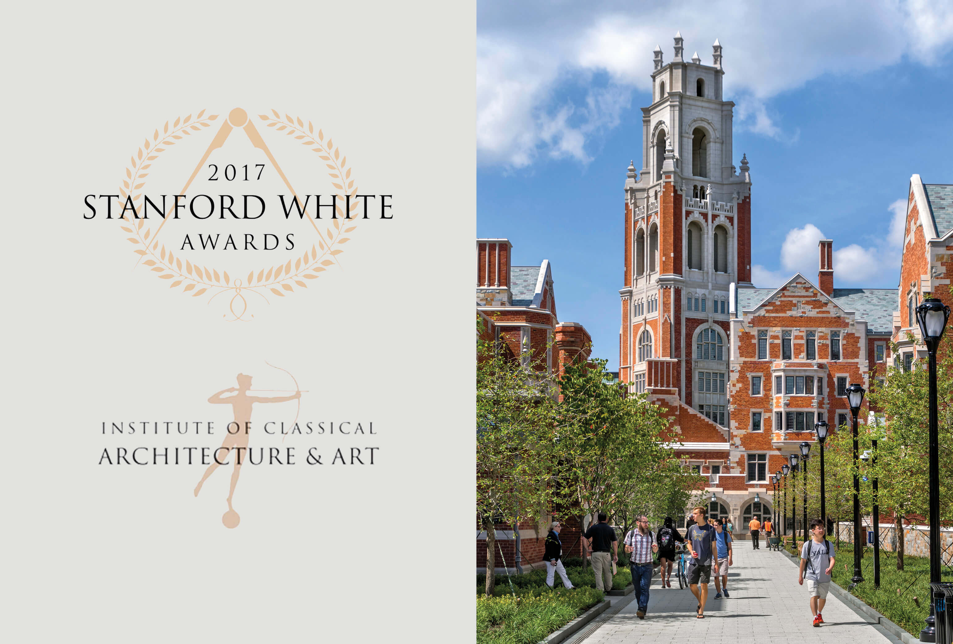 Benjamin Franklin College and Pauli Murray College at Yale University Win Stanford White Award