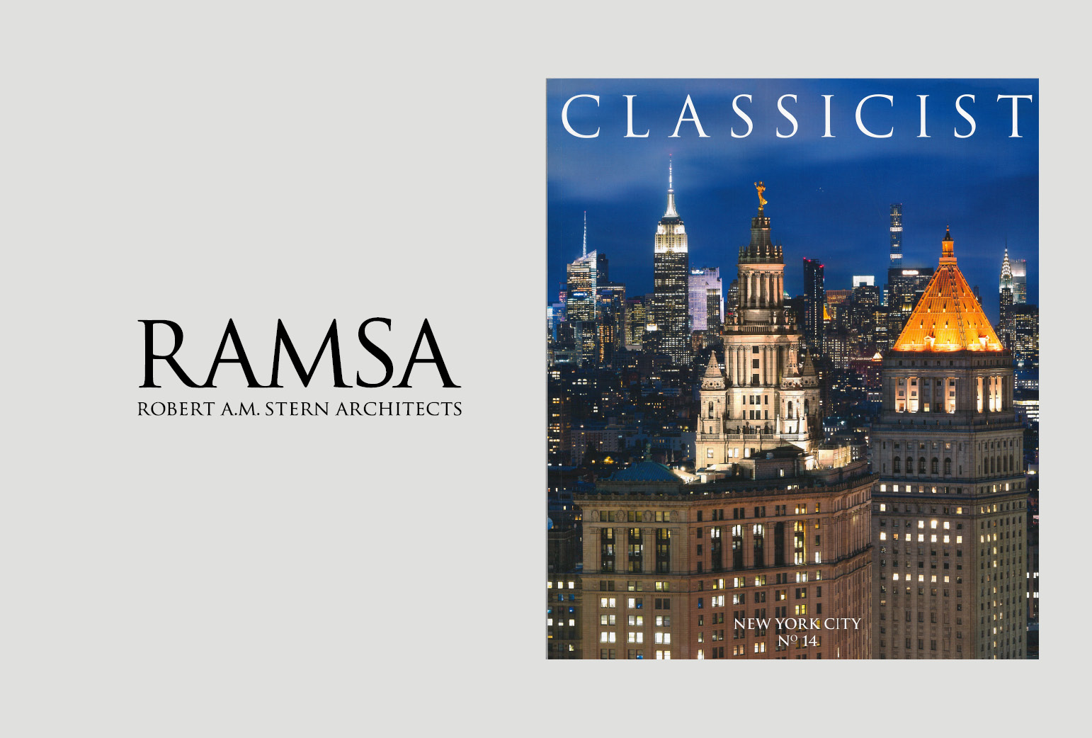 The ICAA's The Classicist No .14 Launch