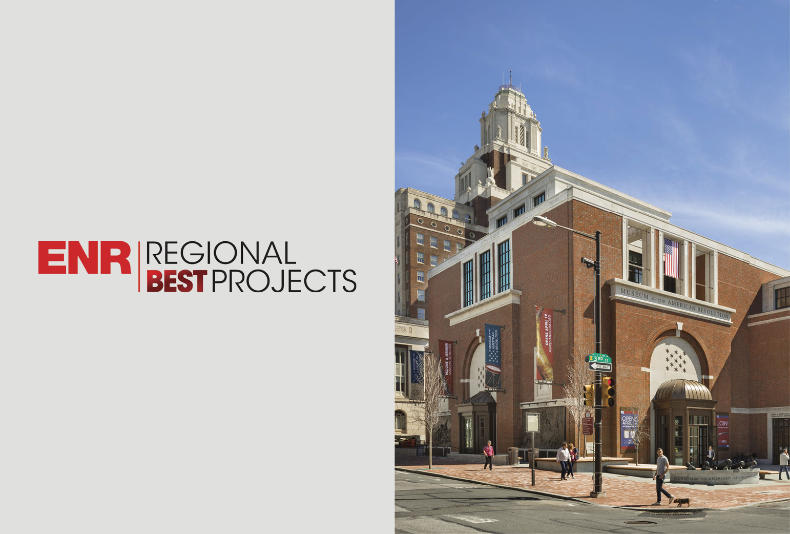 Museum of the American Revolution Wins Engineering News-Record Mid-Atlantic Best Project Award of Merit
