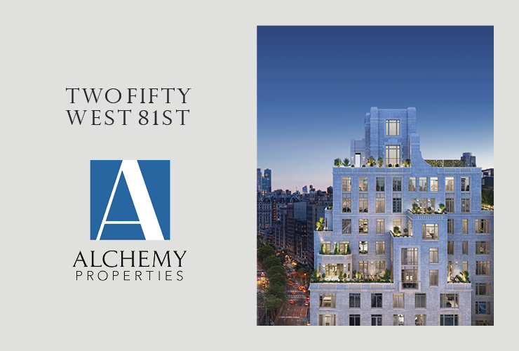 Two Fifty West 81ST Tops Out