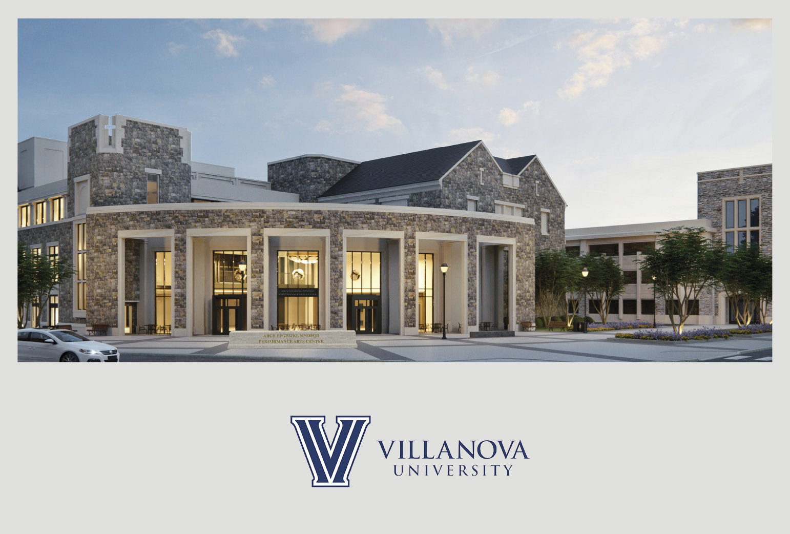Villanova University Breaks Ground for Performing Arts Center