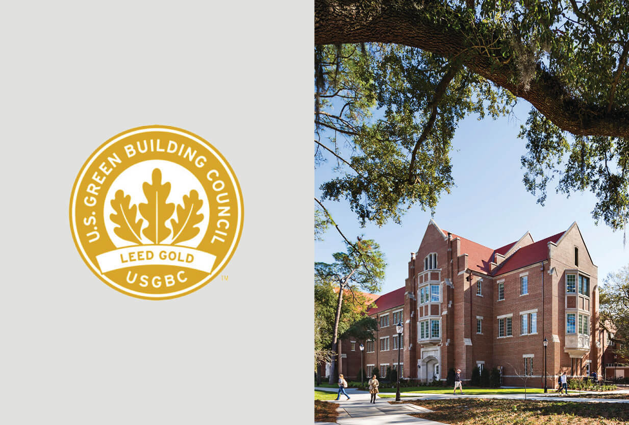 Heavener Hall Certified LEED Gold