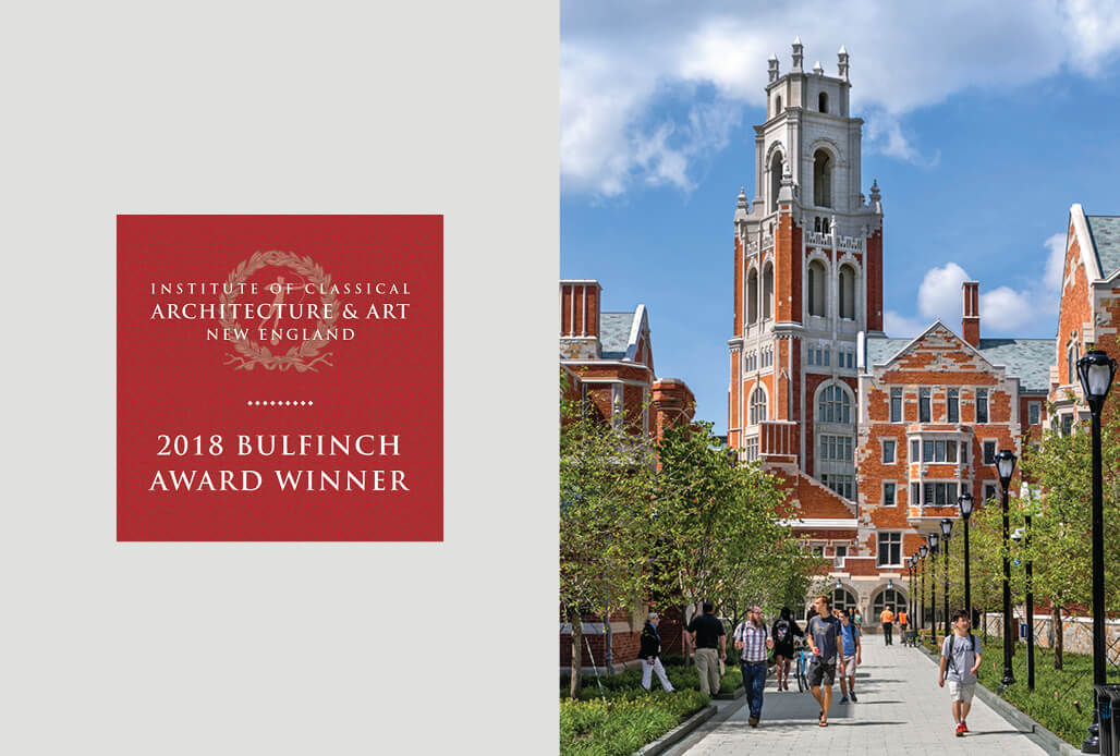 Yale Residential Colleges Win 2018 Bulfinch Award