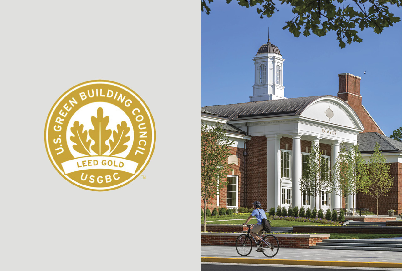 Hoover Dining Hall Certified LEED Gold