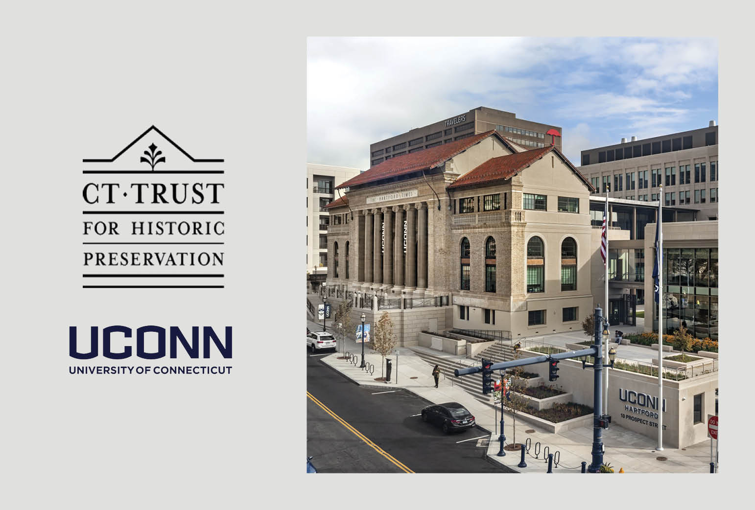 UConn Downtown Hartford Wins 2018 Connecticut Preservation Award
