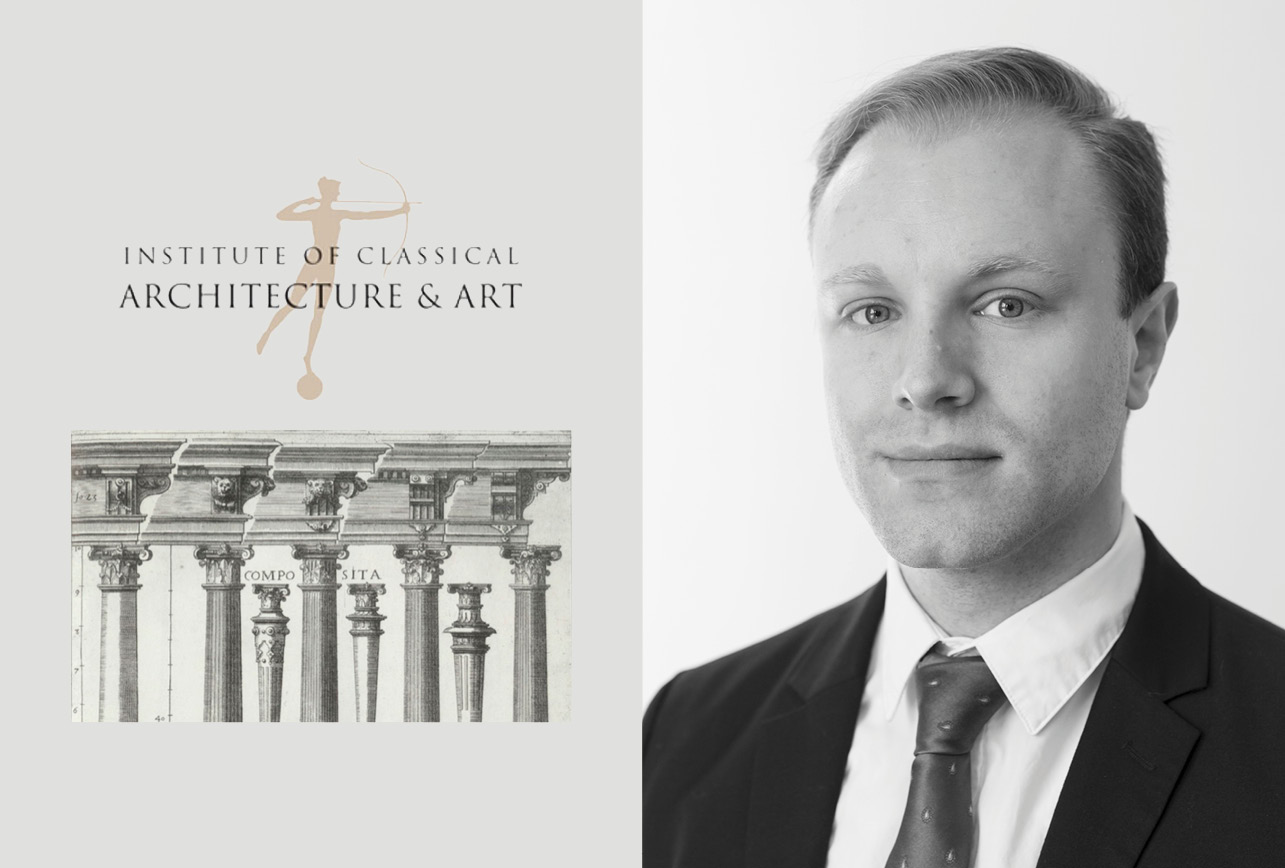 "RAMSA's Mason W. Roberts to Lead ""Elements of Classicism: Unpacking the Composite Order"" at the ICAA"