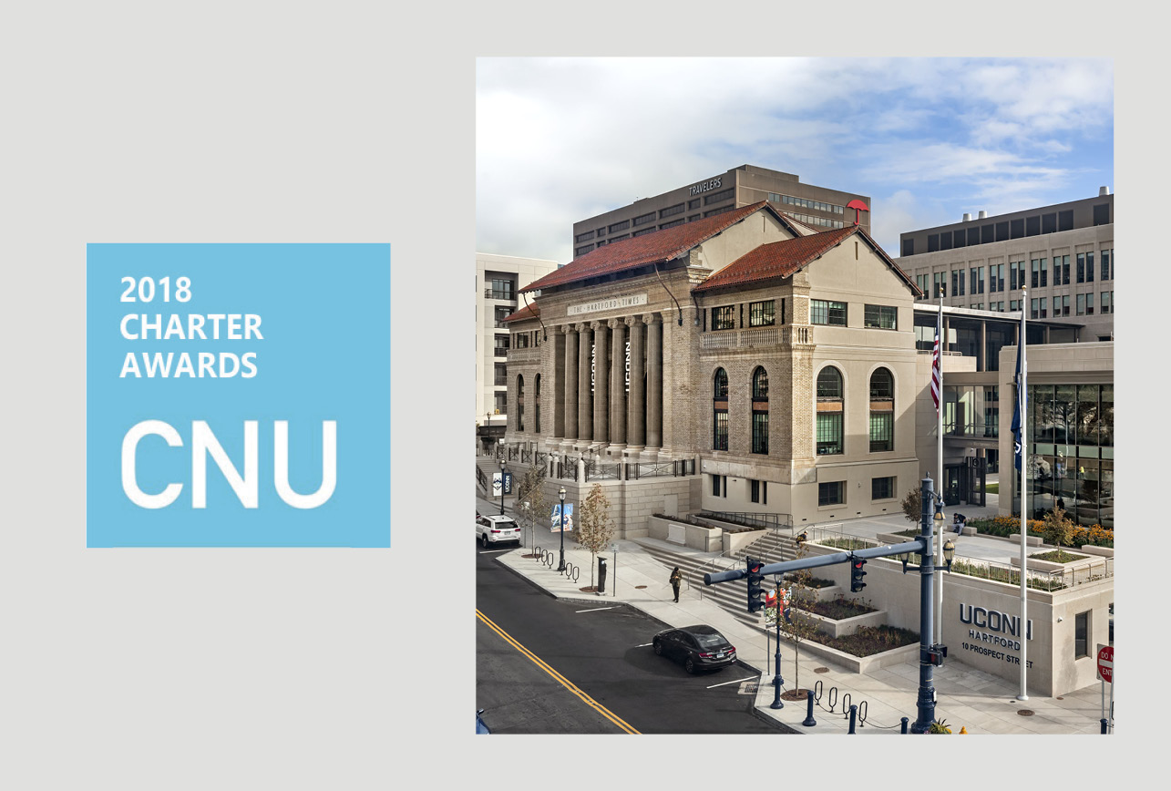 UConn Downtown Hartford Wins 2018 CNU Charter Award