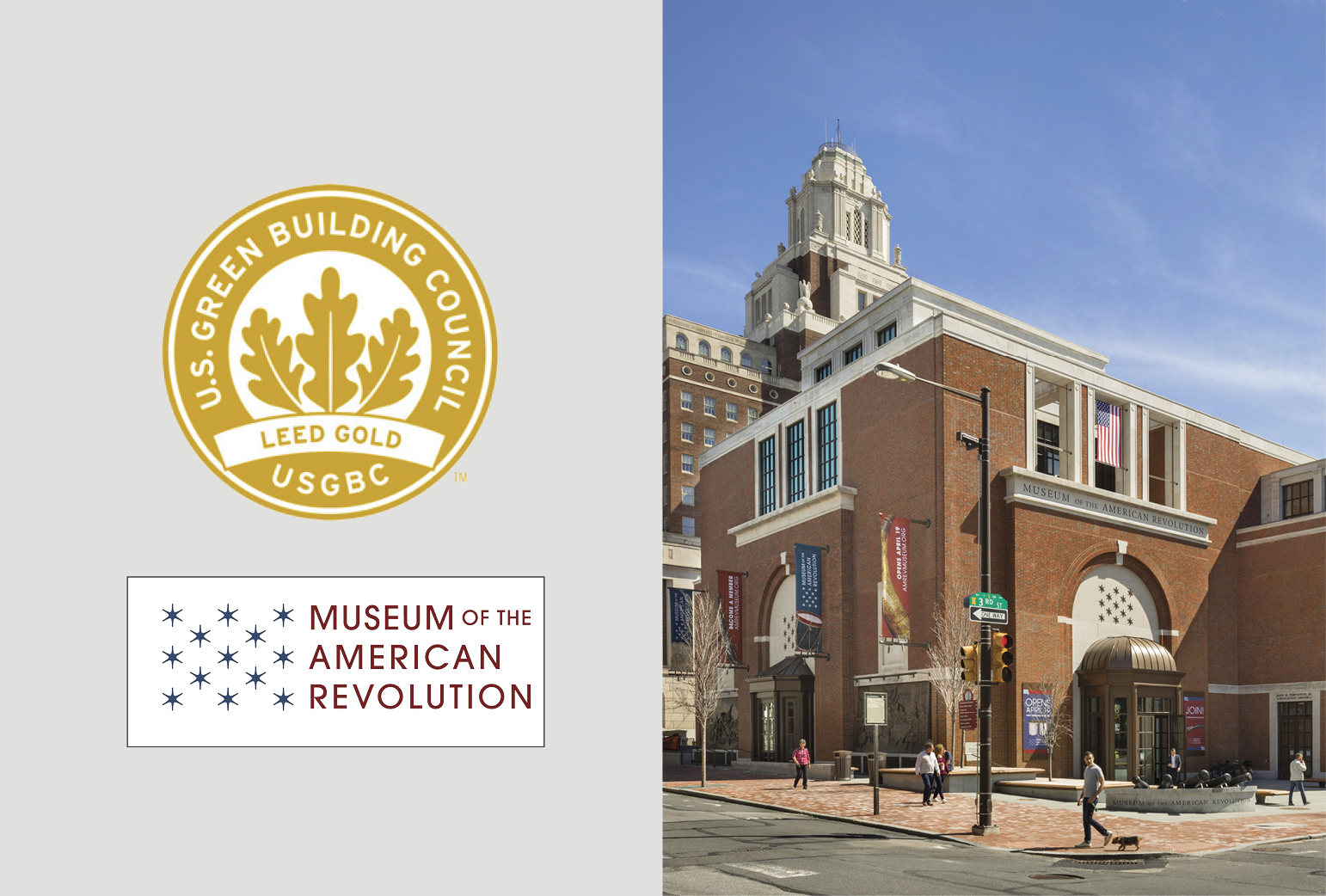 Museum of the American Revolution Certified LEED Gold