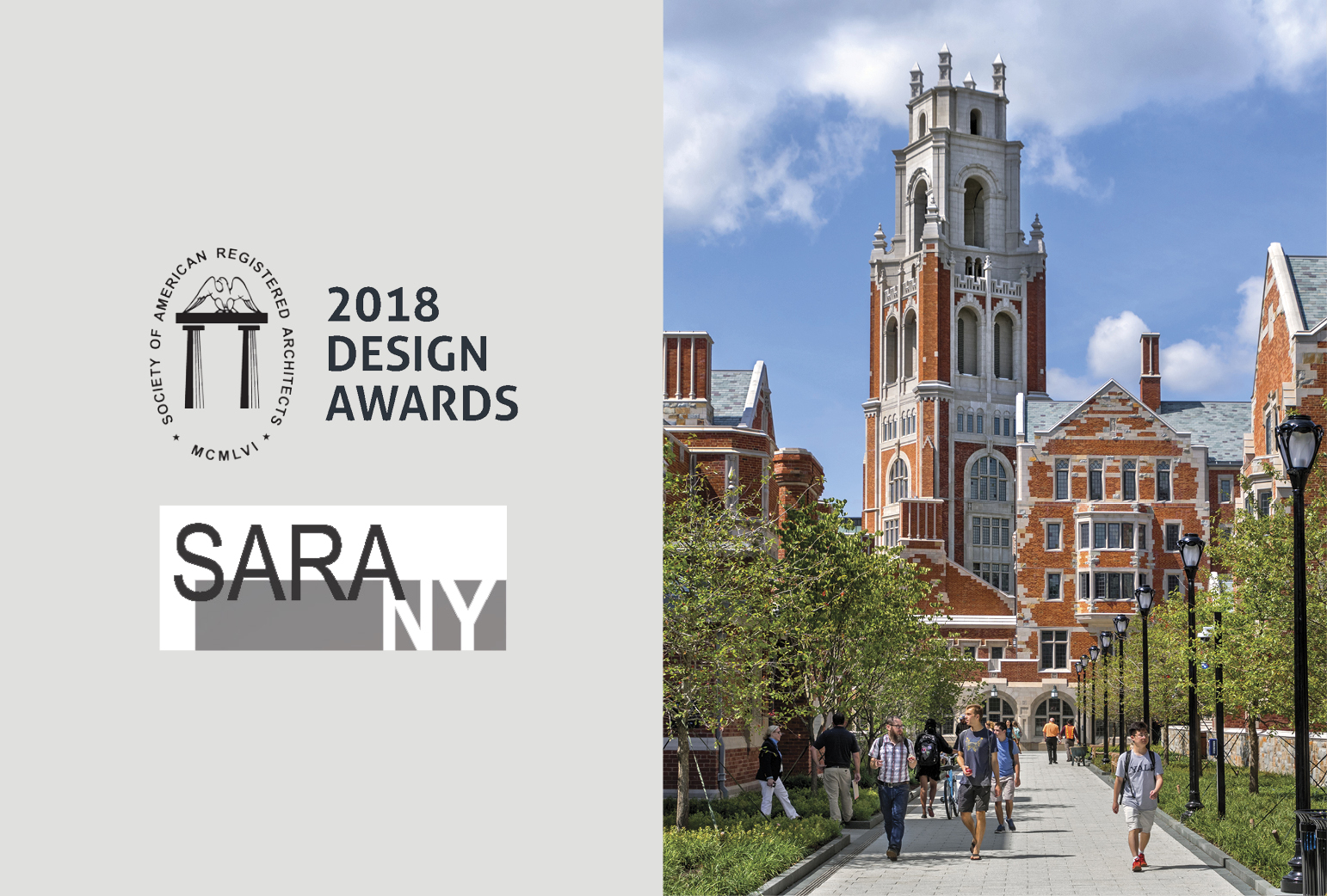 Yale Residential Colleges Win 2018 SARA NY Design Award of Honor