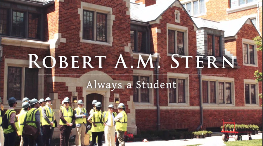 Robert A.M. Stern: Always A Student