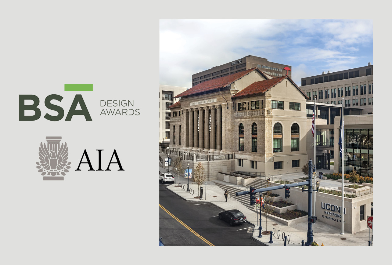 UConn's Downtown Hartford Campus Wins BSA Design Award