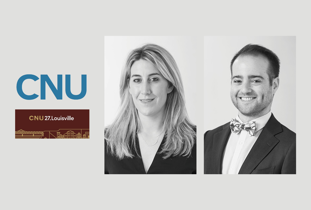 Georgina Harvey and Adam Lowenthal to Present at CNU 27, Louisville