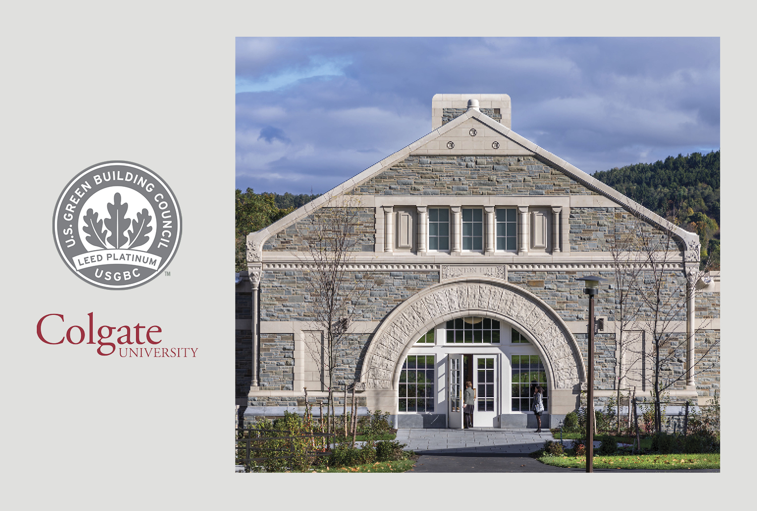Colgate's Benton Hall Earns LEED Platinum Certification