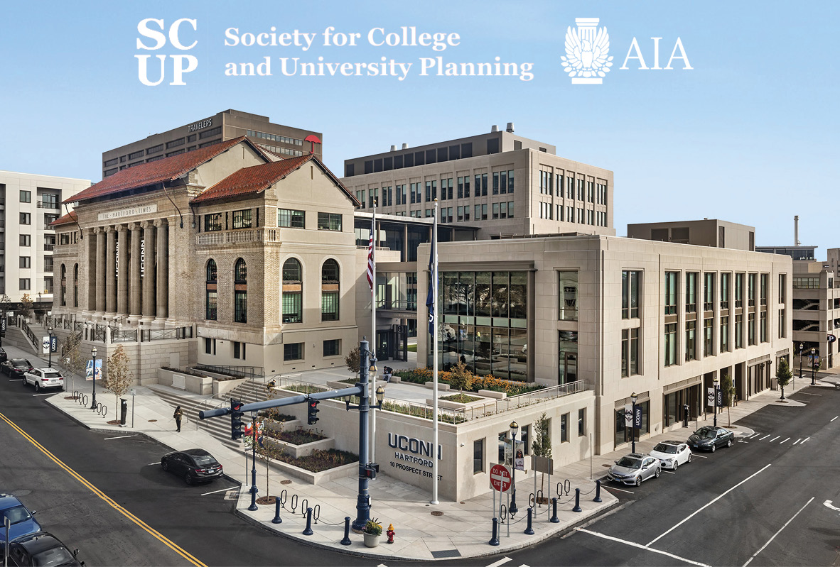 UConn's Downtown Hartford Campus Wins 2019 SCUP/AIA-CAE Excellence Award