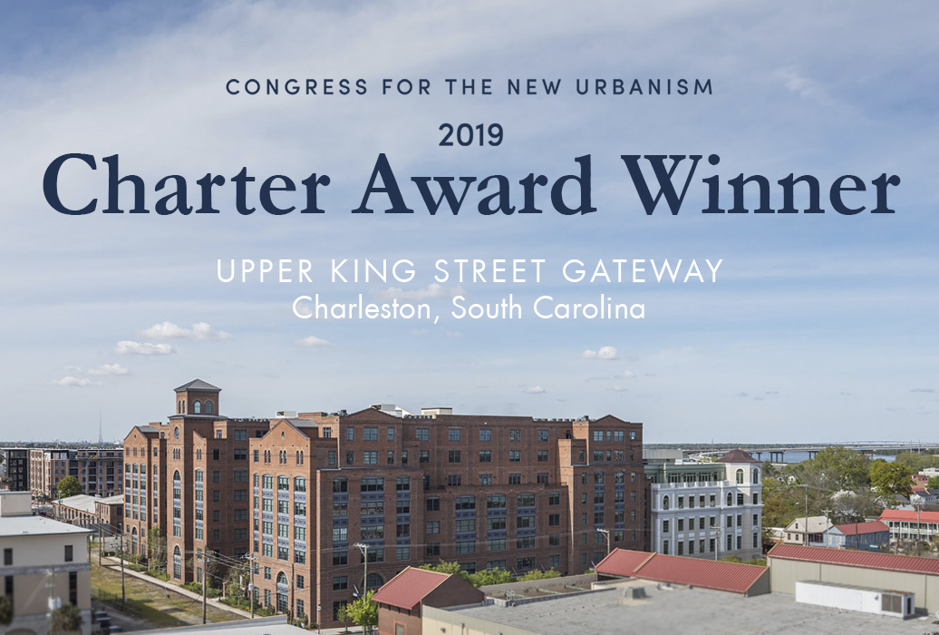 Courier Square & Line Street Developments Win 2019 CNU Charter Award