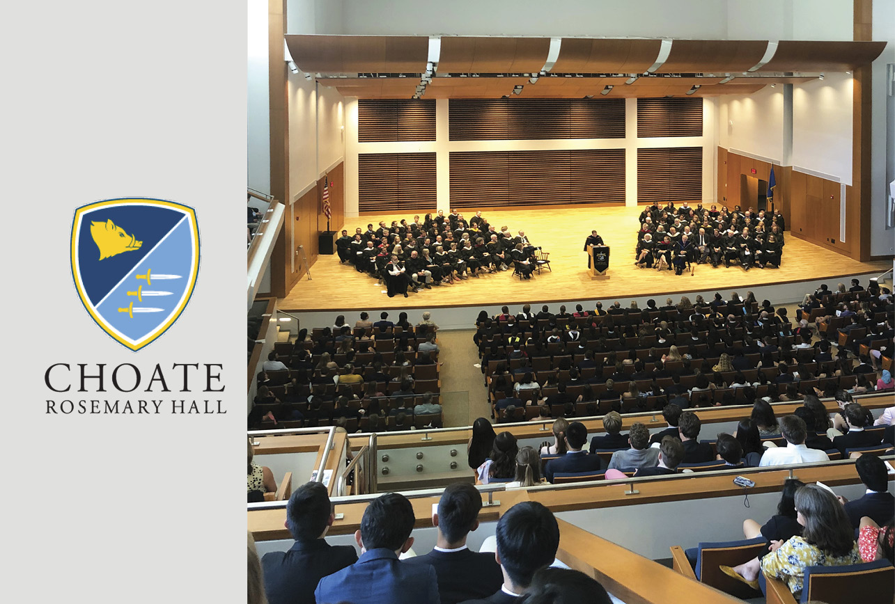 Choate Rosemary Hall Celebrates Convocation in New Colony Hall