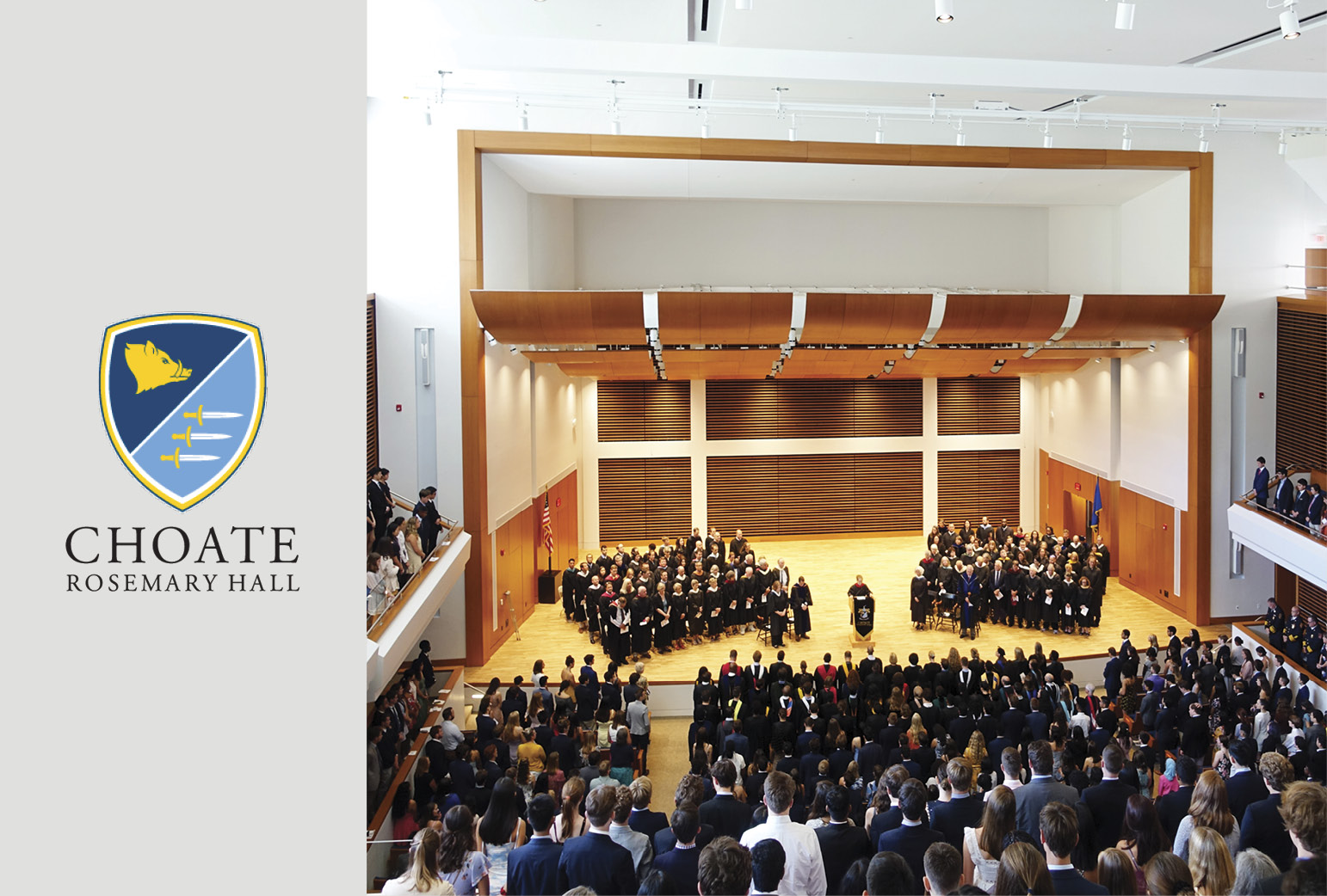 Choate Dedicates Ann and George Colony Hall
