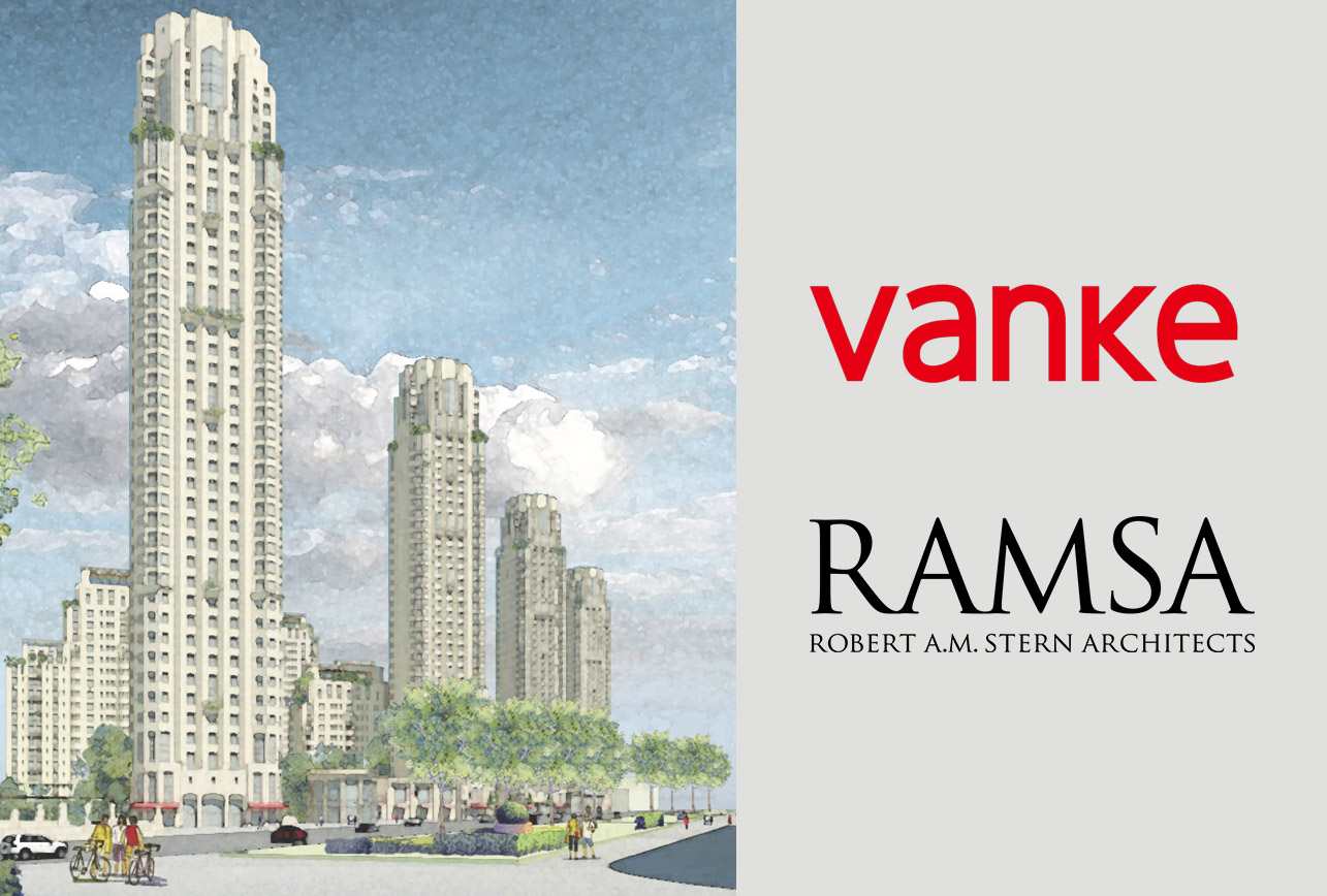 Vanke Announces the Opening of Metropolis One's Exhibition Area in Binhai Central Activities Zone, Tianjin 万科宣布天津滨海中央活力区大都会1号展示区开幕