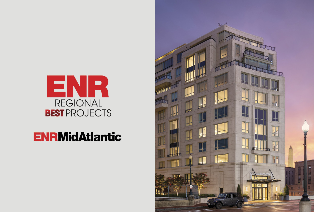 1331 Wins an ENR Mid-Atlantic 2020 Best Projects Award