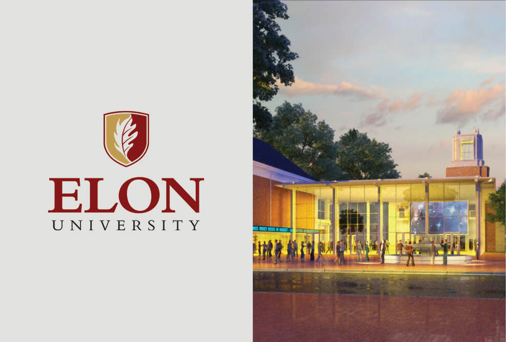 Elon University Dedicates New Buildings at the McEwen School of Communications
