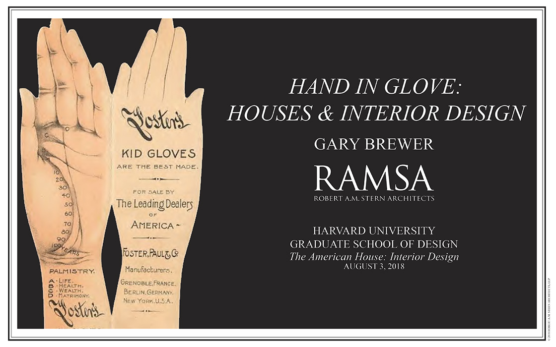 RAMSA Partner Gary L. Brewer to Lecture at Harvard Graduate School of Design