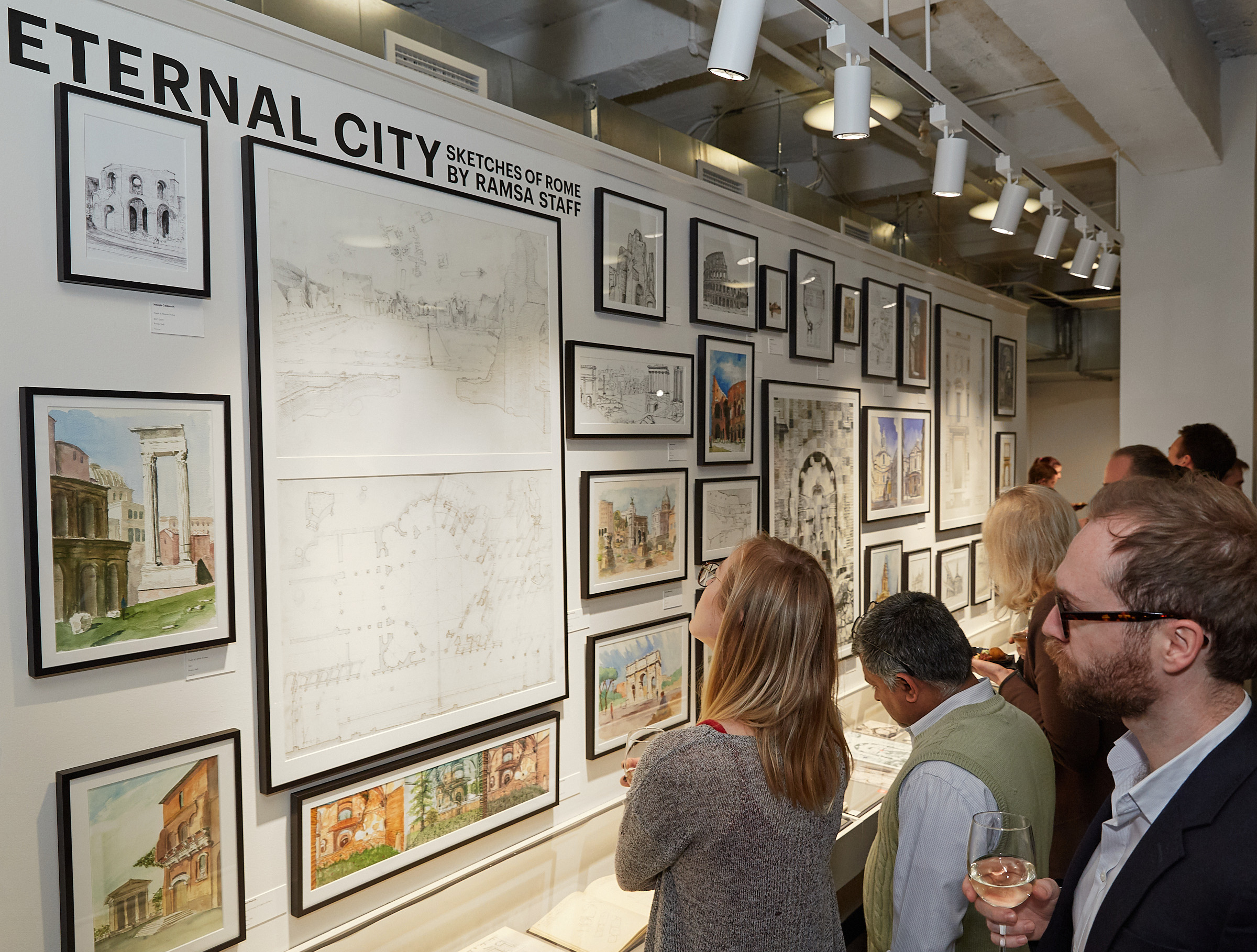 RAMSA Opens Sixth Sketch Gallery Exhibit