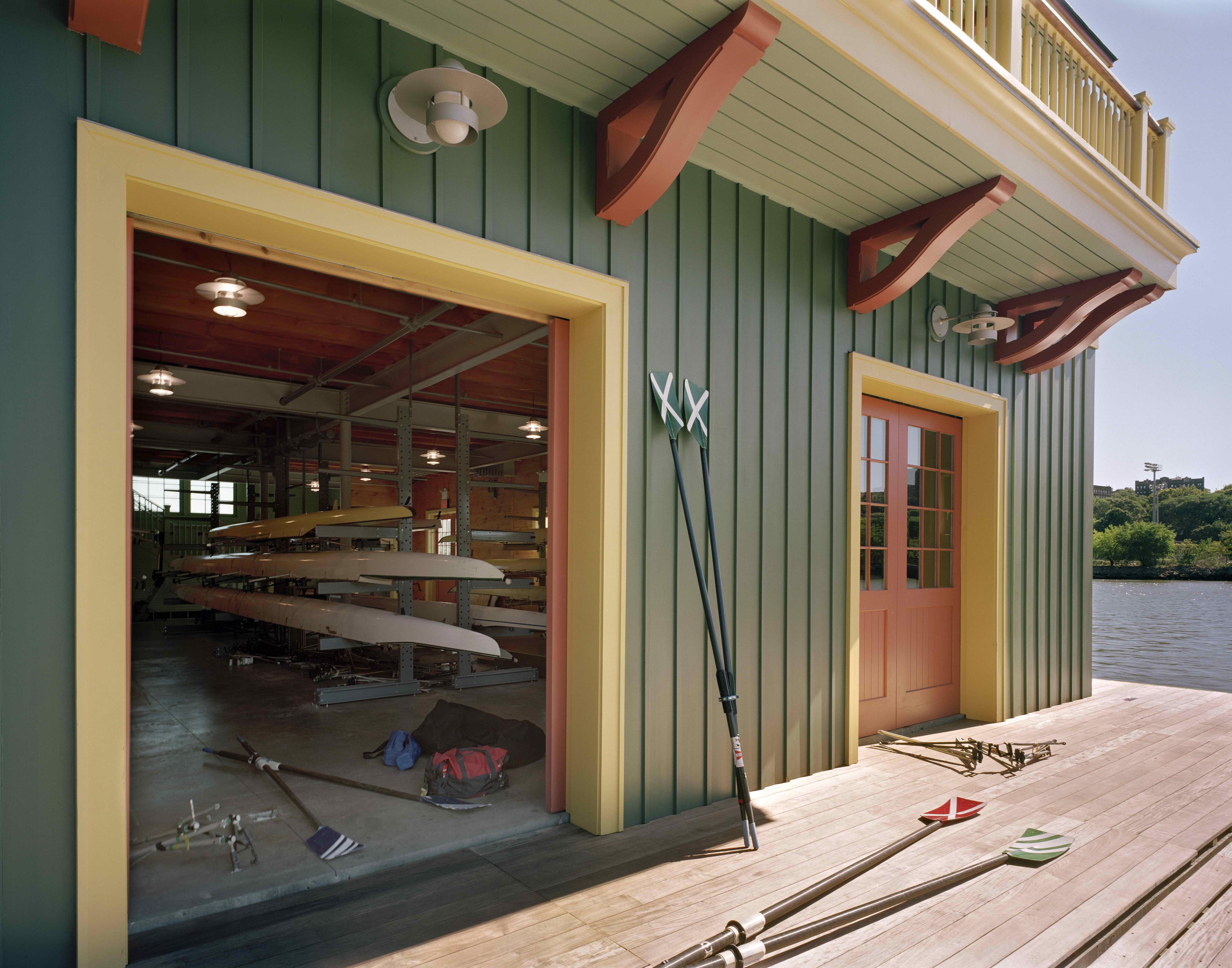 Peter Jay Sharp Boathouse — Robert A M  Stern Architects, LLP