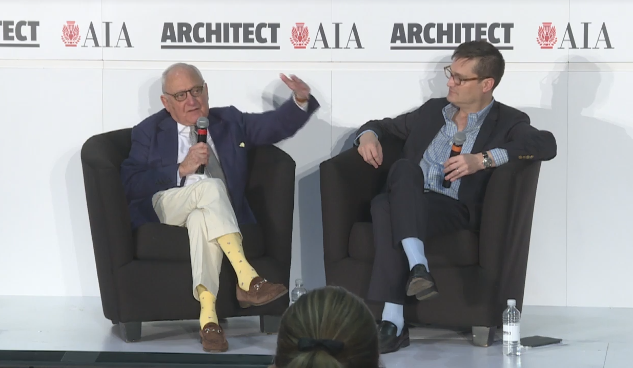 Robert A.M. Stern on Architect Live with Ned Cramer